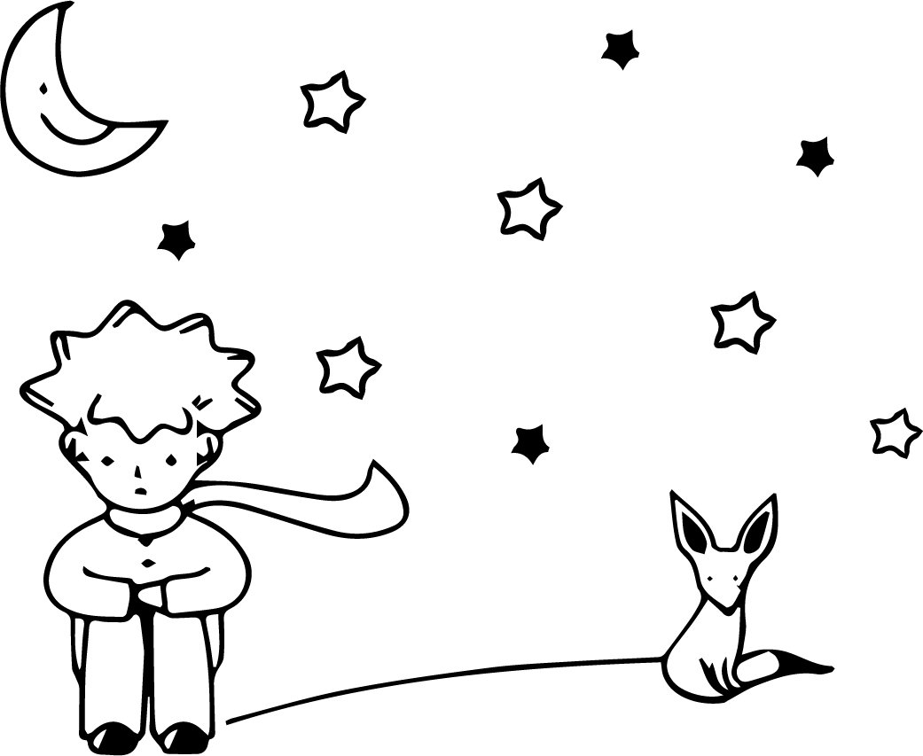 The Little Prince - El Principito - Vinyl Wall Art Stickers - 23 x ...