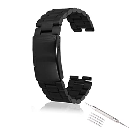 Amazon.com: VIMVIP Stainless Steel Watch Band Watchband ...