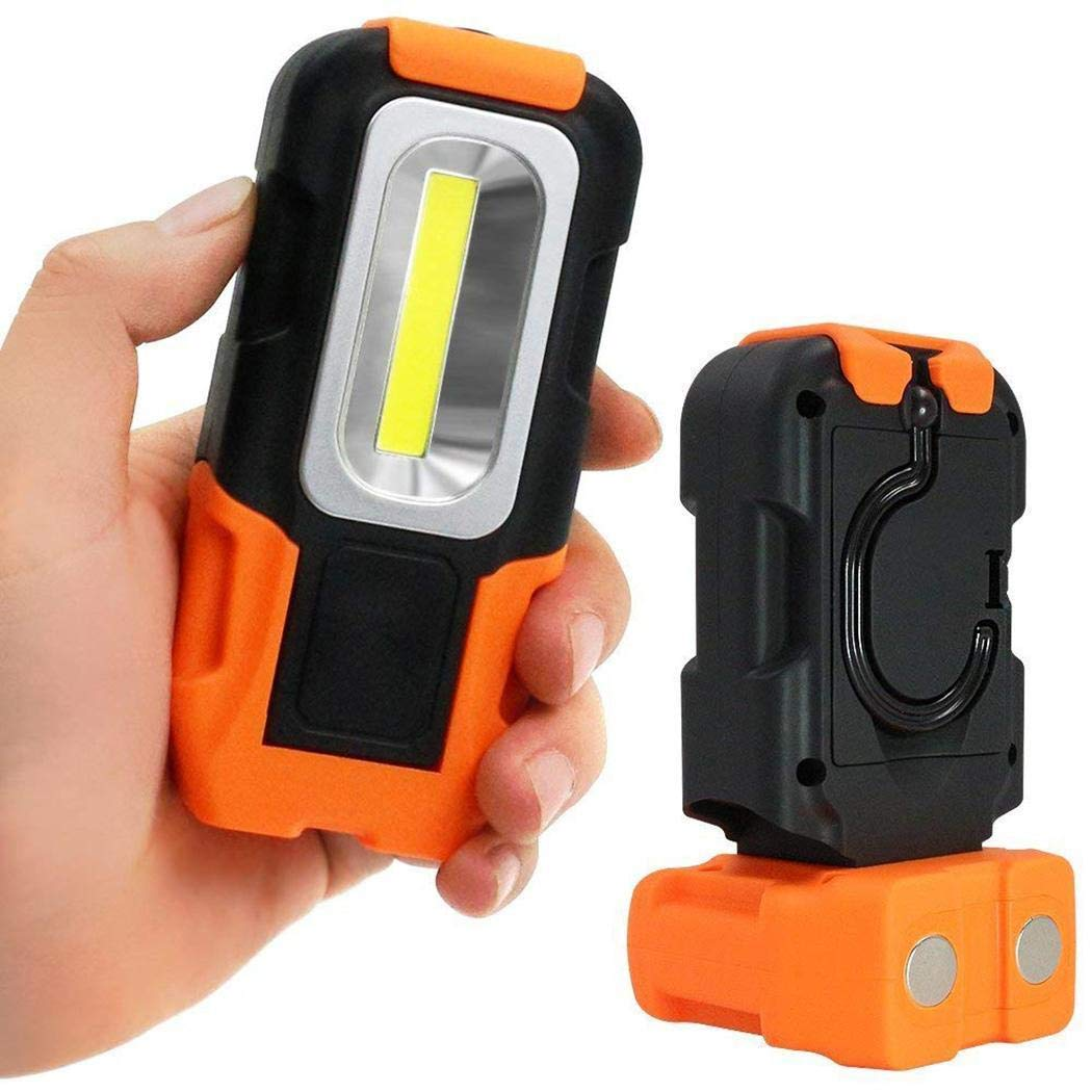 Oplon Multifunction COB Flashlight Portable LED Work Light Emergency Light Lanterns