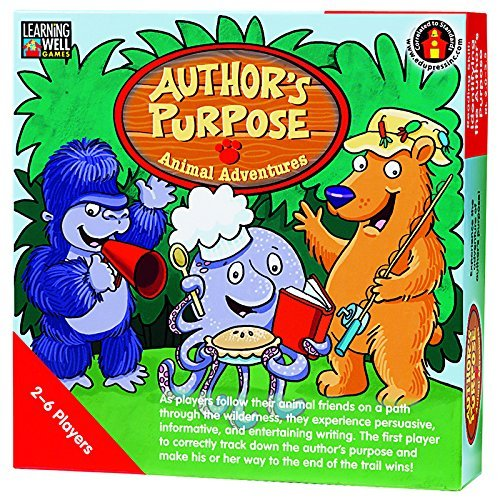 LEARNING WELL GAMES Authors Purpose Animal Adventures Red Level