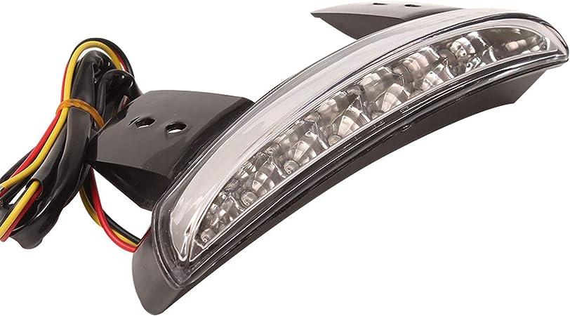 Ankia moto tritato posteriore Fender Edge LED freno targa fanale stop luci di direzione lampada per Harley Sportster XL883/N 1200/N XL1200/V XL1200/x