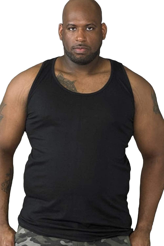 6XL Big King Size Duke D555 Fabio Mens Vest Black