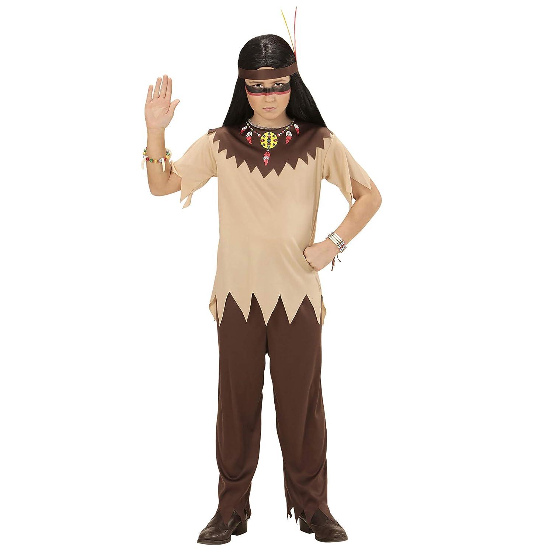 WIDMANN 07218 Disfraz para Niños Indios, Multicolor, 158: Amazon ...