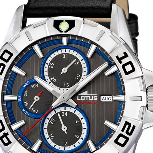 Amazon.com: Lotus Multifunktion 15813/7 Mens Wristwatch very sporty: Watches