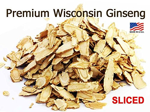 OMURA ORGANIC American Ginseng Slices Cultivated by OMURA, Pack 4 (Organic Slices)