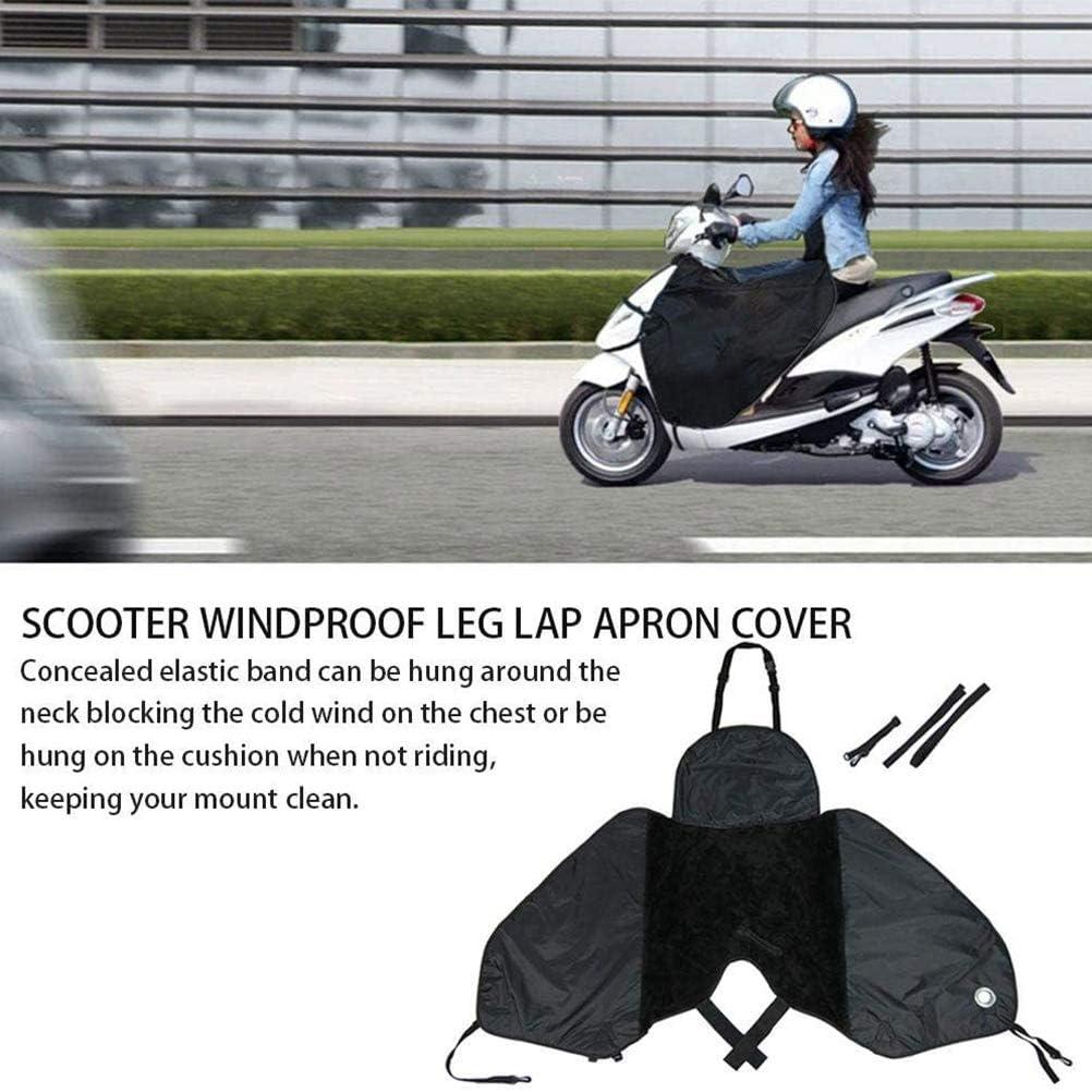 BSTEle Tablier de Scooter Couverture de Jambe Couverture de Jambe de Scooter Coupe-Vent Hiver Protecteur de Jambe Chaude pour Scooter Voitures /électriques Moto