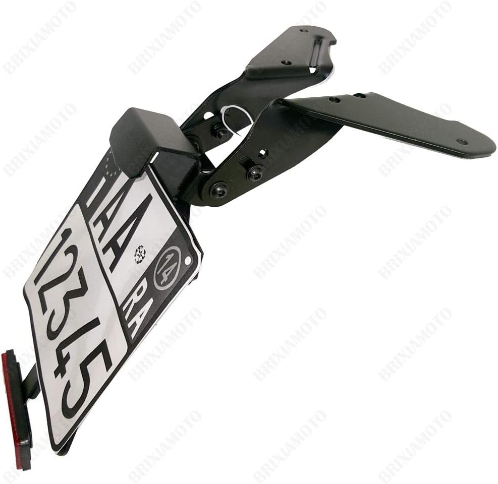 Support plaque d immatriculation r/églable One scooter Yamaha 530 Tmax 2012-2016