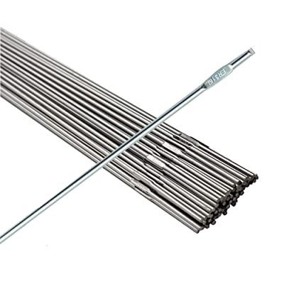 "WeldingCity 1-Lb ER316L Stainless Steel TIG Welding Rods 1-Lb 1/16""x36"" - Tig Welding Equipment - .com"