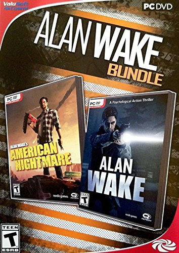 ALAN WAKE *BUNDLE* AMERICAN NIGHTMARE & ALAN WAKE PC - Horror Games Pc