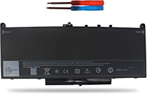 Angwel J60J5 Laptop Battery Compatible with Dell Latitude E7270 E7470 Series[7.6V 55WH]