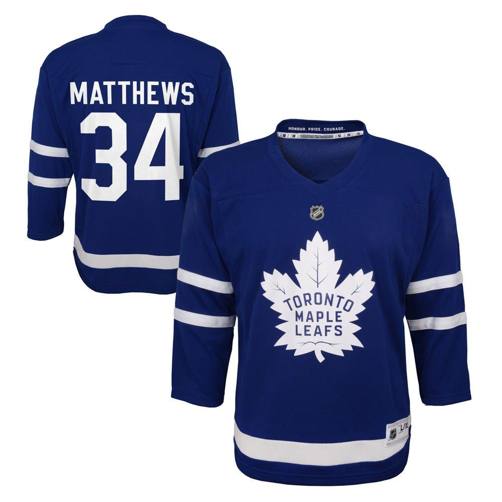 Auston Matthews Toronto Maple Leafs NHL Toddler Blue Player Jersey (One Size 2T-4T)