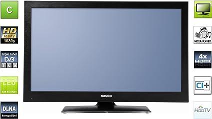 Telefunken t32r970 LED DVB-T cts2 100 81 cm (televisor, 100 Hz): Amazon.es: Electrónica