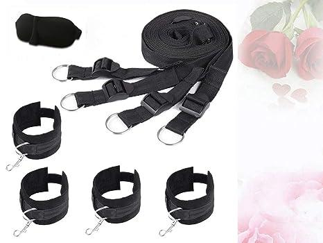TM-mall Cinturón de Yoga para Mujer de Nylon + Máscara de ...