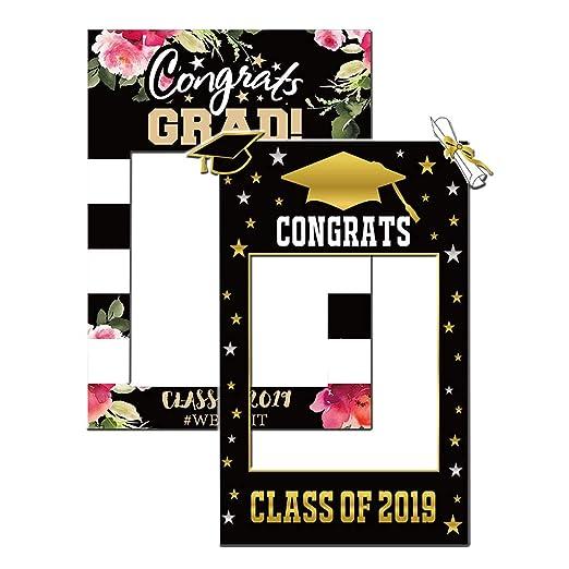 Amycute 2 pcs marco photocall graduacion 2019 Graduation ...