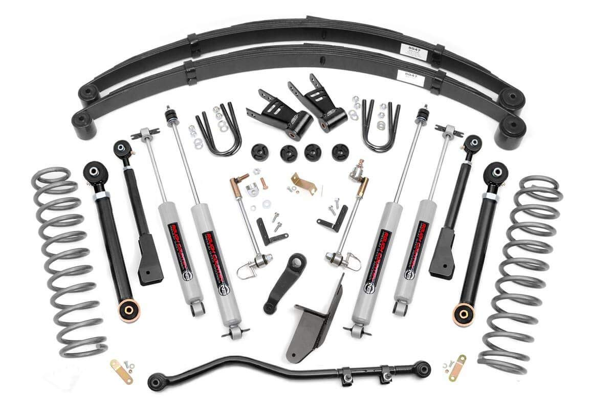 Rough Country - 696N2 - 6.5-inch X-Series Suspension Lift System w/ Premium N2.0 Shocks