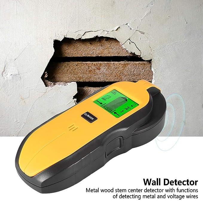 Wocume Detector de Pared, TH250 LCD retroiluminación ...
