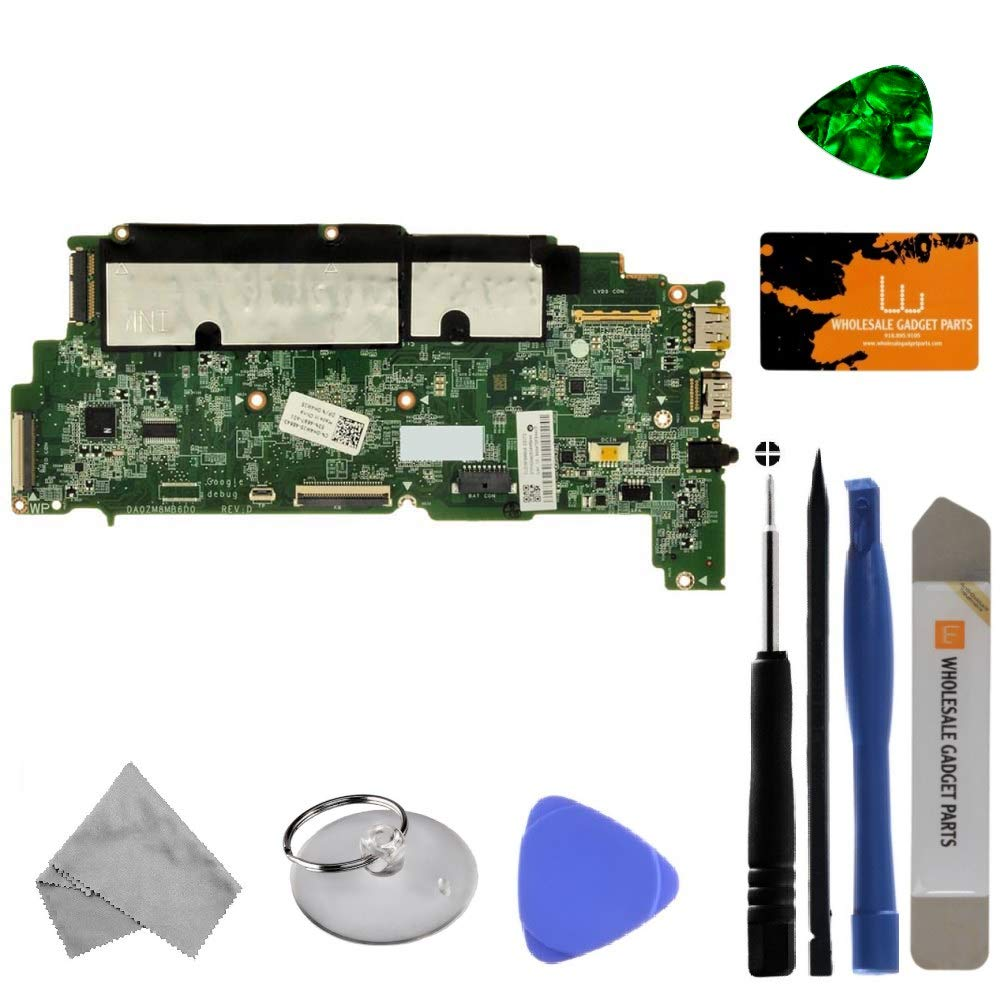 Motherboard for Dell Chromebook 11 (P22T) (4GB) with Tool Kit