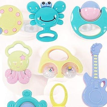 Hemore Beißring Set, Rasselspielzeug, Rasselspielzeug, Baby