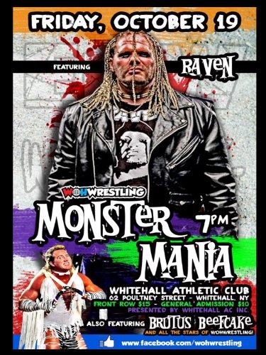 WOHW Monster Mania - Jim Whitehall