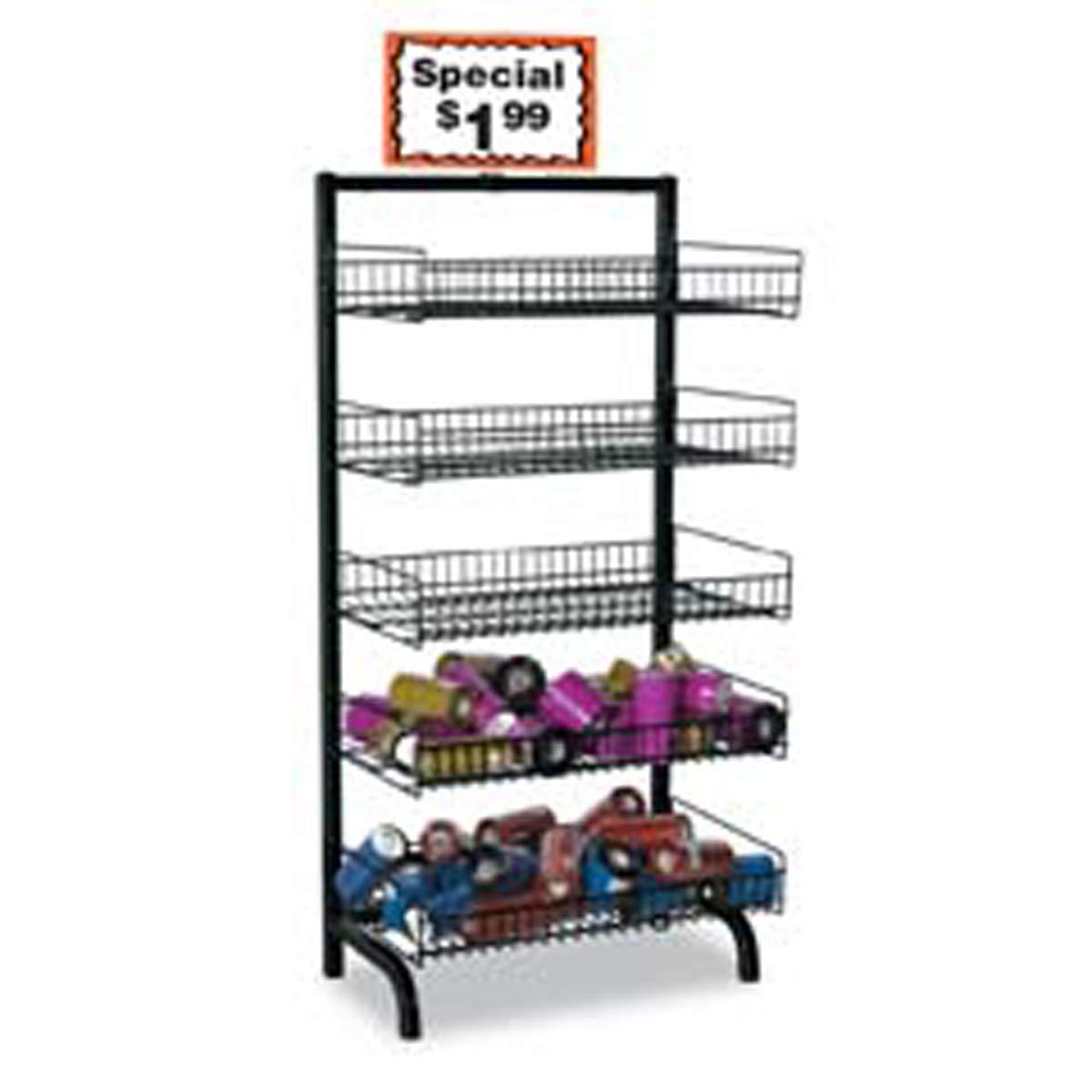5 Tier Wire Dump Bin Basket Stand Retail Merchandise Display Multi-level New