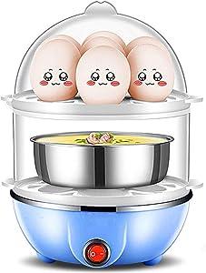 DGSD 14 Egg Capacity Egg Cooker,350W Electric Egg Maker,Egg Steamer,Egg Boiler,Egg Cooker with Automatic Shut Off,Egg Cooker with Egg Piercer,B