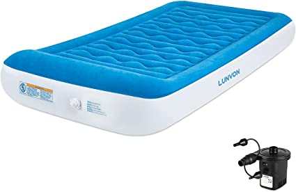 Amazon.com: Lunvon Self Inflatable Pad Camping Air Mattress ...