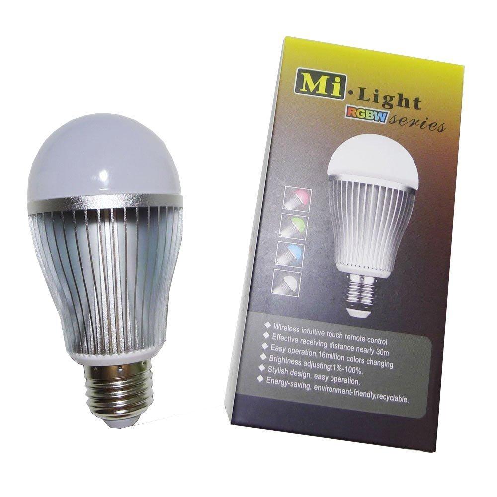 Led Strip Lights Controller 2.4G 4-Zone LED RGB RF Mi Light Series Color Changing and Brightness Dimming for RGB Strip Lights FUT037 LIGHTEU