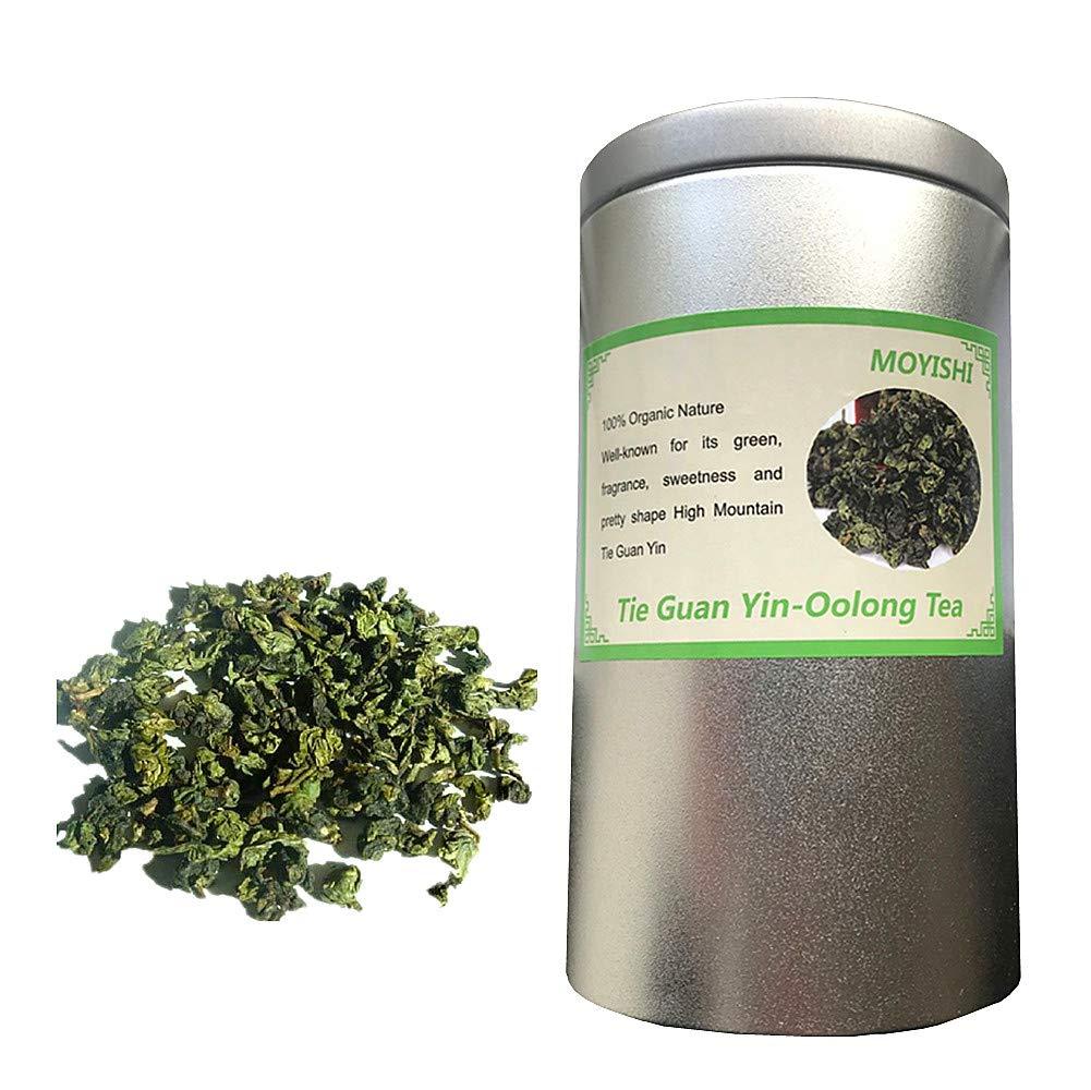 Tie Guan Yin Oolong Tea - Iron Goddess of Mercy (WuLong) Loose Tea - 5.3 Oz by Moyishi