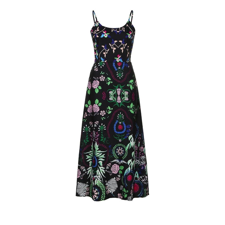 Vestidos mujer verano 2018, Amlaiworld Vestido largo sexy bohemio floral mujer honda Vestido de playa de verano sin mangas: Amazon.es: Ropa y accesorios