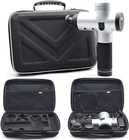 Imagen deEstuche de Almacenamiento Portátil para Massager y Cinco Accesorios, Impermeable a Prueba de Arañazos Anti Shock Carry Case Suministros para Deportes al Aire Libre