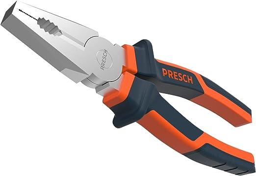 CrV Kombizange 200 mm Flachzange Zange Kombinationszange Seitenschneider Chrome