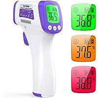 Termometro Infrarrojos IDOIT termometro infrarrojos sin contacto termometro frontal pantalla digital función de memoria…