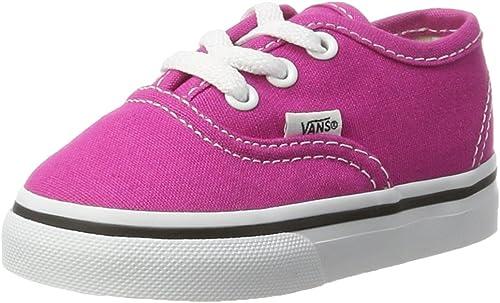 Vans Authentic, Chaussures de Running bébé Fille, Rose (Very ...