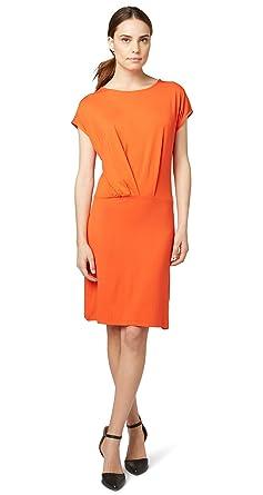 TOM TAILOR Contemporary Damen Kleid Kurzarm Rundhals  Amazon.de ... 6755546ebd