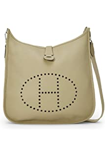1340891be8 Hermes Soufre Epsom Evelyne III PM (Pre-Owned)  Handbags  Amazon.com