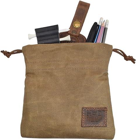 Fatigue - Bolsa de tela encerada para jugar a juegos de mesa o viajes, hecha a mano: Amazon.es: Deportes y aire libre