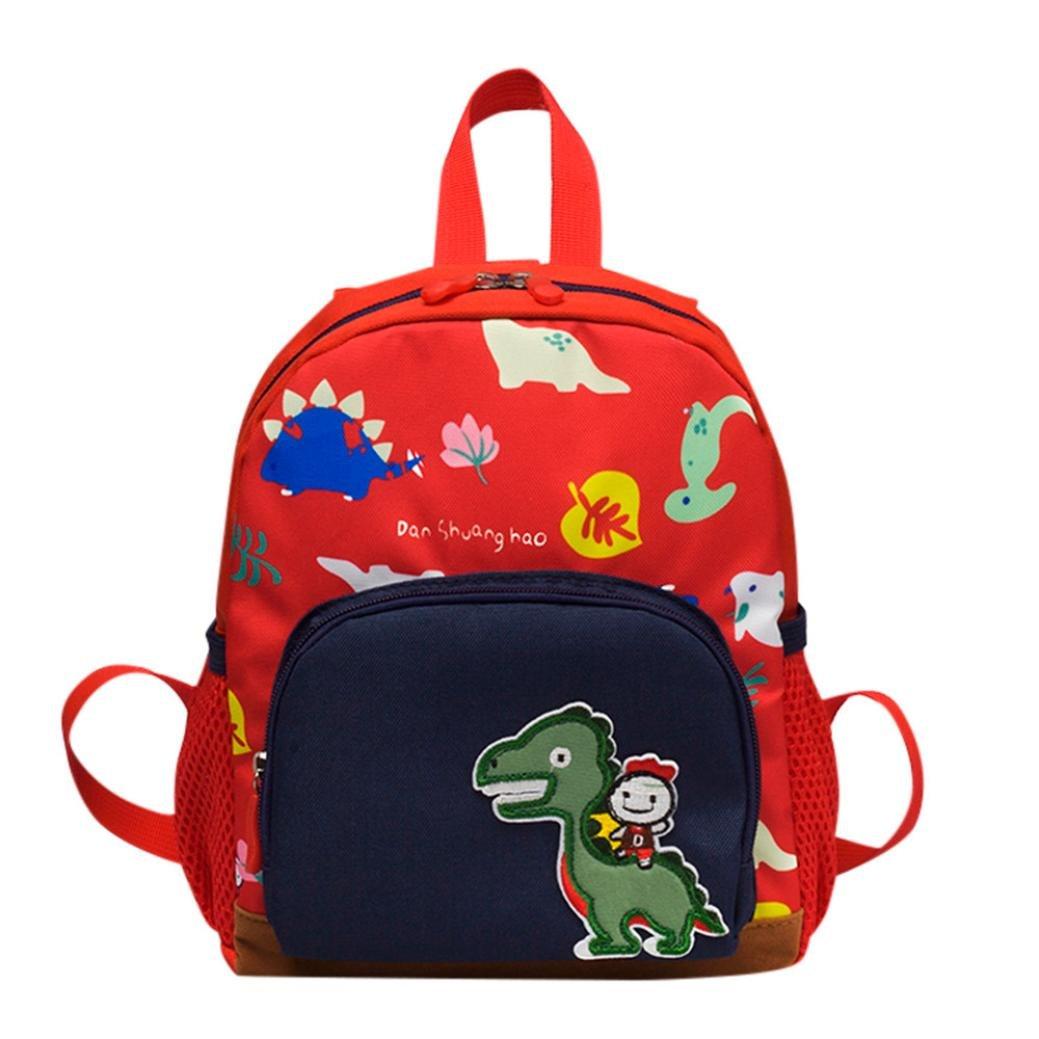 Mochila Dinosaurio Infantil, Animal Bolsa de escuela para Primaria Niño Niña: Amazon.es: Equipaje