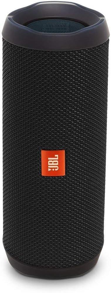 Jbl Flip 4 Bluetooth Box In Schwarz Wasserdichter Tragbarer Lautsprecher Mit Freisprechfunktion Sprachassistent Bis Zu 12 Stunden Wireless Streaming Mit Nur Einer Akku Ladung Audio Hifi