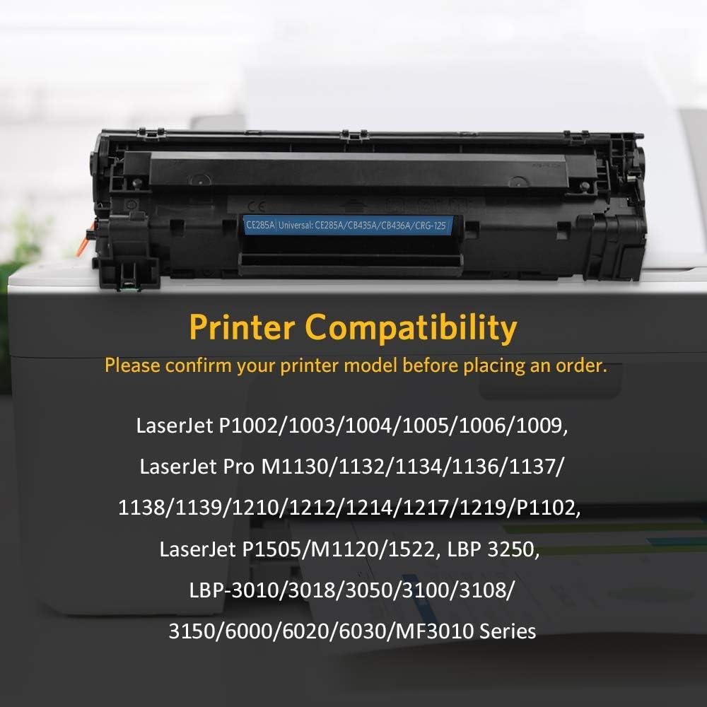 3-Pack Black Compatible 85A Toner Cartridge CE285A Used for HP Laserjet Pro M1211nf M1217nfw M1214nfn m1216nfn M1213nf P1102 P1109w P1005 P1006 M1132 Printer