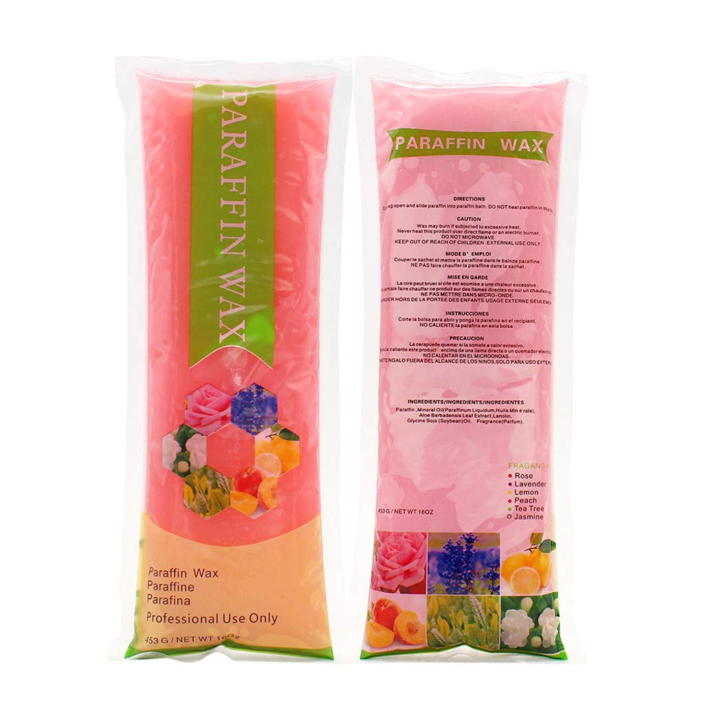 Amazon.com: SUSSMAI Paraffin Wax Hand Feet Bath Rose Peach ...