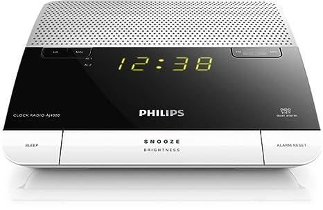 Philips AJ4000/05 - Radio (Reloj, 0,3 W, 4 dígitos
