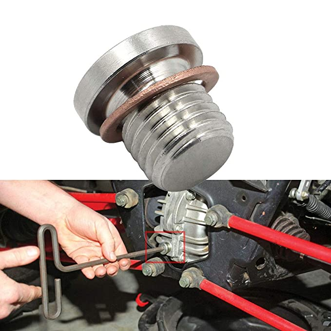 Amazon.com: Motoparty Engine Oil Drain Plug with Washer Bolt For Polaris RZR 570 800 900 1000 Sportsman 570 600 700 800 850 1000 Ranger 570 700 800 900 ETX ...