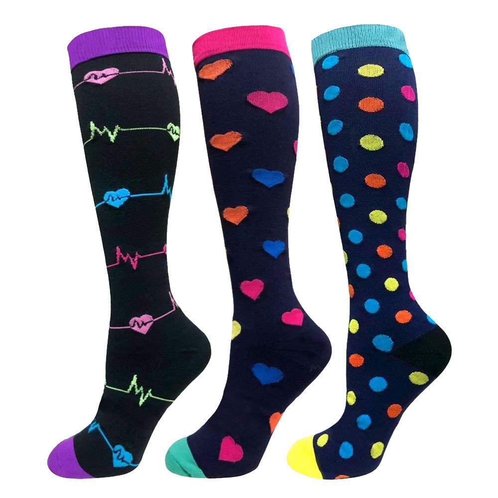 Compression Socks for Women Better Blood Circulation Men Stocking for Running Flying Varicose Veins Athletic Socks