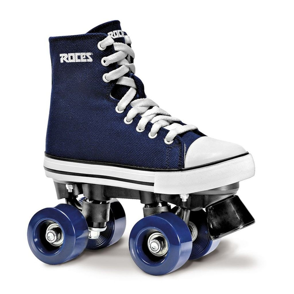 Roces 550030 Model Chuck Roller Skate,Blue//White,4USW,2USM,33EU,1UK