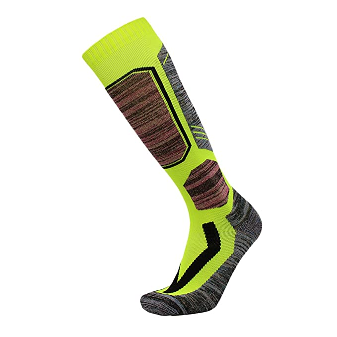 Zhhlaixing Hombres y mujeres Multi Performance Thermal Ski Calcetines Deportes Fit Outdoor Sports Hiking Trekking Cycling