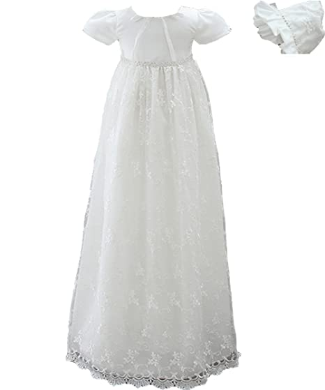 e3ff8dcfa ... AHAHA Baby Girls Long Christening Gowns Special Occasion Dresses