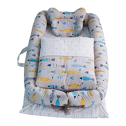 Decdeal Bebé Nido de Recién Nacido Cuna para la Cama Saco de Dormir de Seguridad 100