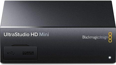 Amazon Com Blackmagic Design Ultrastudio Hd Mini Recorder With Thunderbolt 3 Interface Electronics