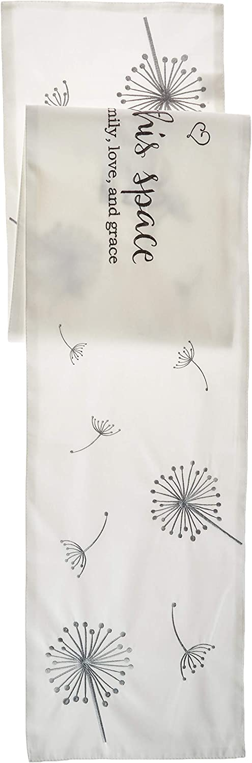 Precious Moments Bless This Space Table Runner, Multi