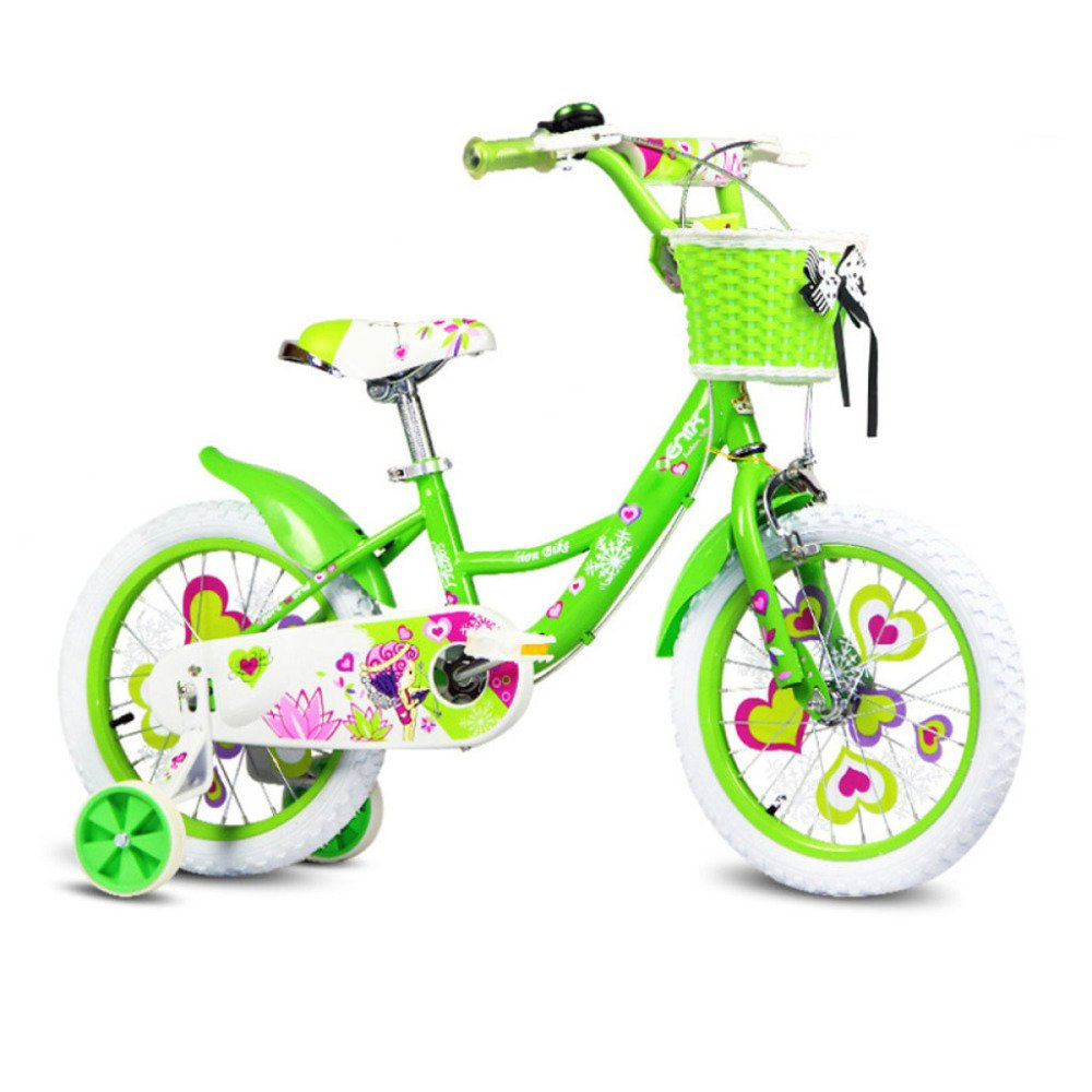 yihangg子供の自転車Kids Bike 12 /14 /16 /18インチGirlバランス調節可能プリンセス自転車 B07D1655M9 B(18Inches) B(18Inches)